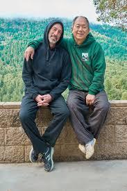 אמיר פרלמן לצד המורה של לטאי צ׳י יאנג סטייל מאסר יאנג ג׳ווינג מינג